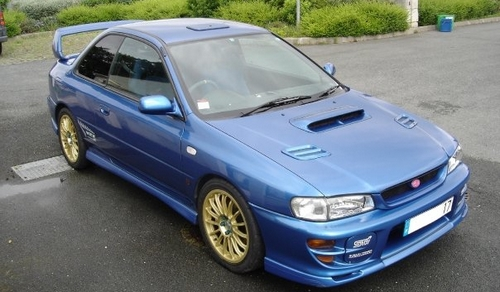 Subaru Impreza WRX STI type R Version VI