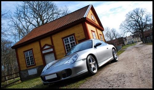 Porsche 911 type 996 40th anniverssaire