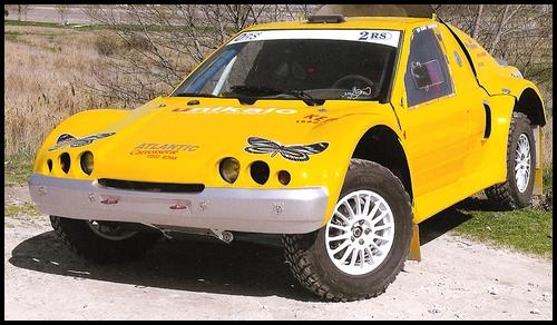Buggy Fouquet Porsche